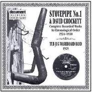 Various Artists, Stovepipe No.1 & David Crockett Complete Recorded Works In Chronological Order 1924-30 (CD)