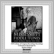 Various Artists, Mississippi Fiddle Tunes & Son (CD)