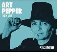 Art Pepper, Live In Japan (CD)