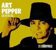 Art Pepper, Live In The Usa (CD)