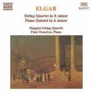 Edward Elgar, Elgar: String Quartet in E minor / Piano Quintet in A minor (CD)