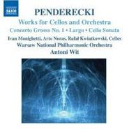 Krzysztof Penderecki, Works For Vc & Orch (CD)