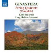 Alberto Ginastera, Ginastera: String Quartets 1-3 (Complete) (CD)