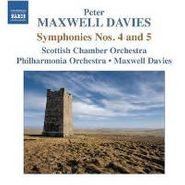 Peter Maxwell Davies, Symphonies Nos. 4 & 5 (CD)