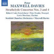 Maxwell Peter Davies, Strathclyde Concertos Nos. 3 & (CD)