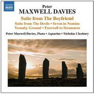 Sir Peter Maxwell Davies, Suite From The Boyfriend/Suite (CD)