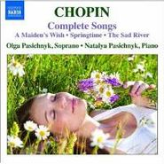 Frédéric Chopin, Chopin: Complete Songs (CD)