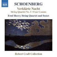 Arnold Schoenberg, Schoenberg: Verklarte Nacht / String Quartet No. 1 / Four Canons (CD)