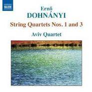 Ernst von Dohnányi, Dohnányi: String Quartets Nos. 1 & 3 (CD)
