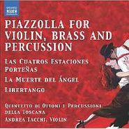 Astor Piazzolla, Tangos For Violin Brass & Perc (CD)