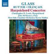 Philip Glass, Glass / Rutter / Francaix: Harpsichord Concertos (CD)