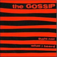 The Gossip, That's Not What I Heard (LP)