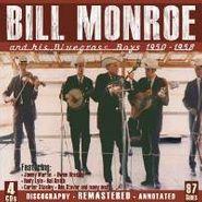 Bill Monroe, Bill Monroe & His Bluegrass Boys 1950-1958 (CD)