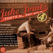 Various Artists, Juke Joints 4-Thats All Right (CD)