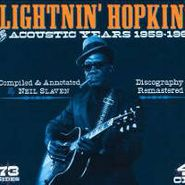 Lightnin' Hopkins, Acoustic Years (CD)