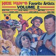 Various Artists, Hee Haw's Favorite Artists Volume 2 (CD)