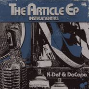 """K-Def, The Article EP Instrumentals (12"""")"""