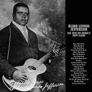 Blind Lemon Jefferson, See That My Grave's Kept Clean (LP)