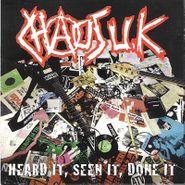 Chaos UK, Heard It, Seen It, Done It (LP)