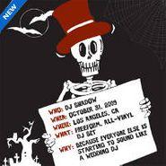 DJ Shadow, In La 10/31/09 (CD)