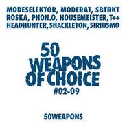 Various Artists, 50 Weapons Of Choice # 02-09 (CD)