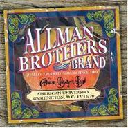 The Allman Brothers Band, American University 12/13/70 (CD)