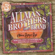 The Allman Brothers Band, Macon City Auditorium 2/11/72 (CD)