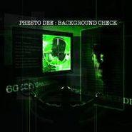 Phesto , Background Check (CD)