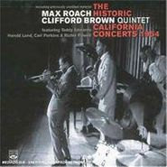 Max Roach, The Historic California Concerts 1954 (CD)