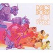 Lyrics Born, As U Were (CD)