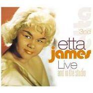 Etta James, Live And In The Studio (CD)
