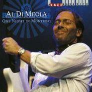 Al Di Meola, One Night In Montreal (CD)