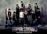 Super Junior, 3rd Asia Tour Concert Album: Super Show 3 (CD)