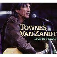Townes Van Zandt, Live In Texas (CD)