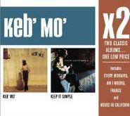Keb' Mo', X2: Keb' Mo' / Keep It Simple (CD)