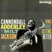 Cannonball Adderley, Things Are Getting Better (LP)