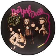 New York Dolls, Live At Radio Luxembourg, Paris [Picture Disc] (LP)