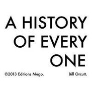 Bill Orcutt, A History Of Every One (CD)