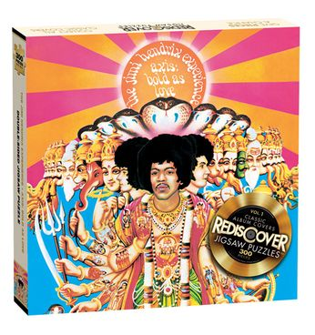 Jimi Hendrix - Axis: Bold As Love (Jigsaw Puzzle)