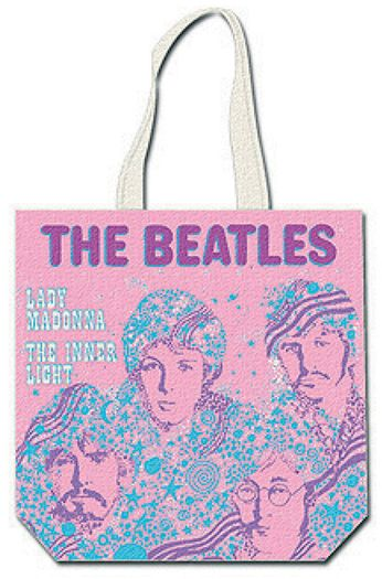 The Beatles - Lady Madonna [Pink] (Tote Bag)