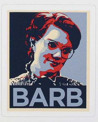 Barb - What Happened to Barb!? (Sticker)
