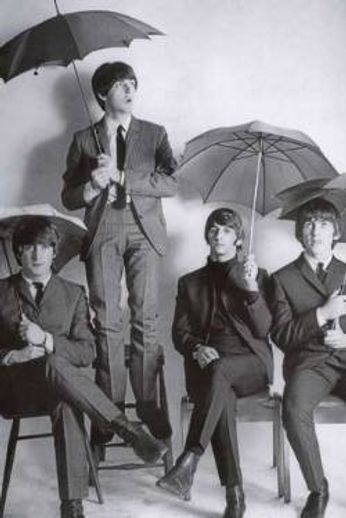 The Beatles - Umbrellas (Poster)