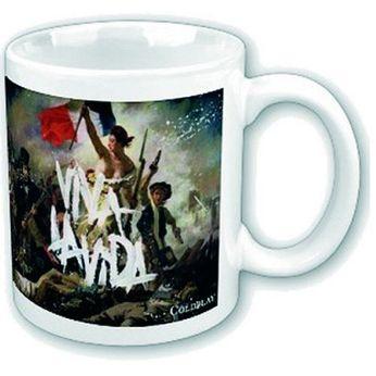 coldplay viva la vida mug
