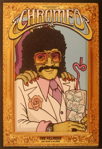 Chromeo - The Fillmore - July 29, 2008 (Poster)