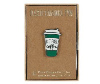But First Coffee - To Go Cup (Pin)