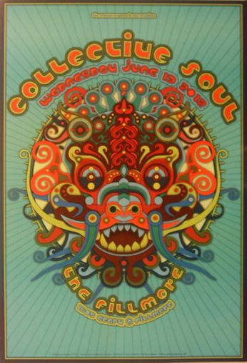 Collective Soul - The Fillmore - June 13, 2012 (Poster)