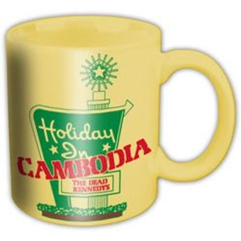 Dead Kennedys - Holiday In Cambodia (Mug)