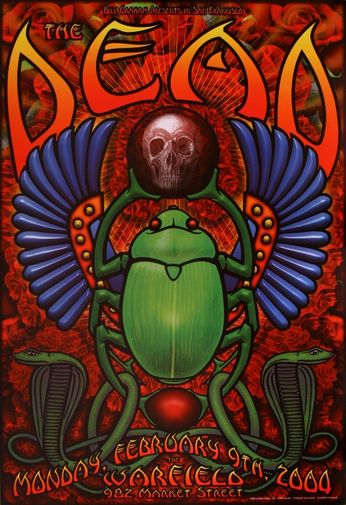 The Dead - The Warfield - February 9, 2004 (Poster)