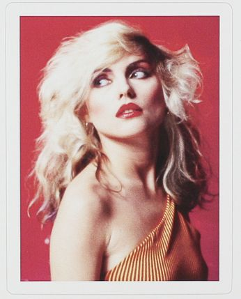 Red Blondie - by Mick Rock '78 (Sticker)