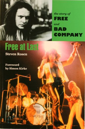 Free / Bad Company / Steven Rosen - Free At Last (Book)